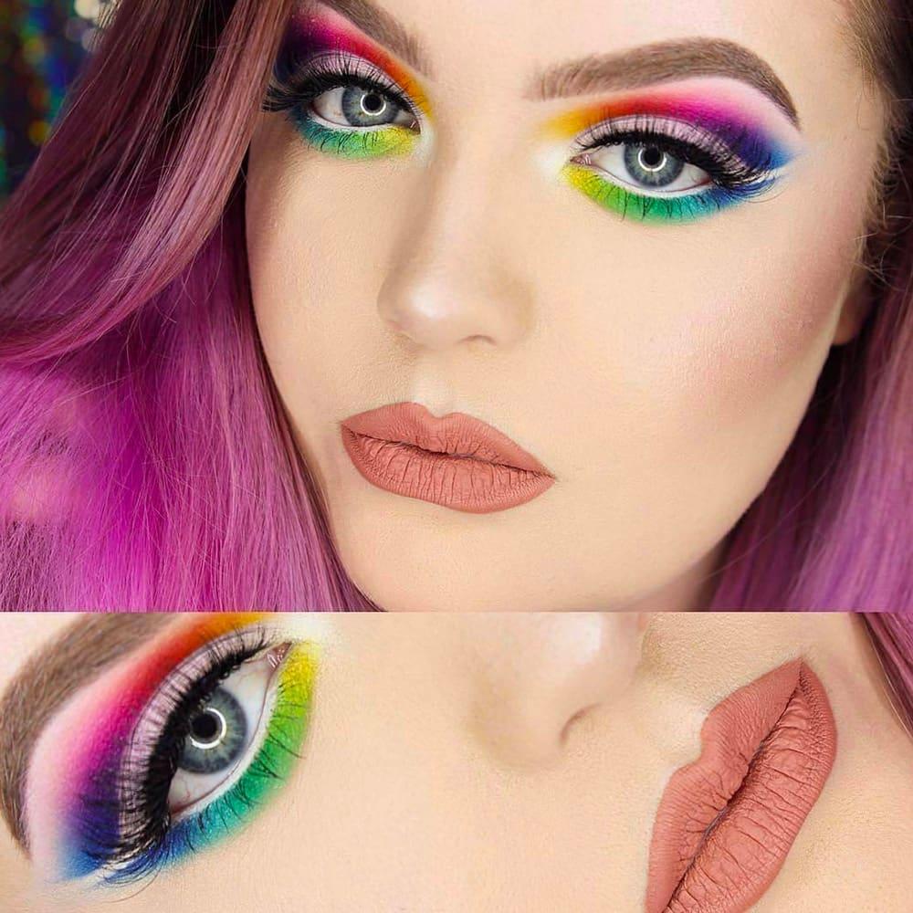 Rainbow Makeup Ideas Natinstablog