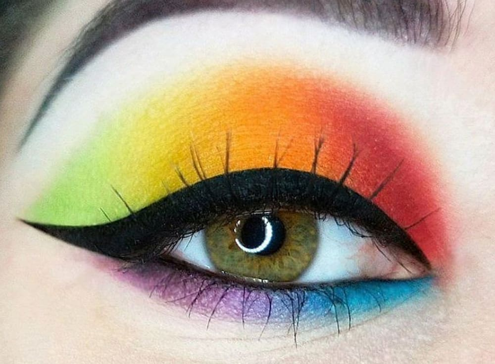 Rainbow Makeup Ideas Natinstablog